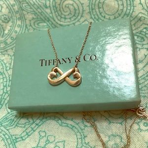 Tiffany & Co Open Heart Necklace 925 silver